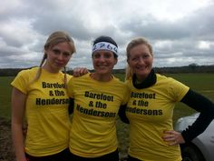 My girls ready for our next challenge at The Nuts Challenge 2014