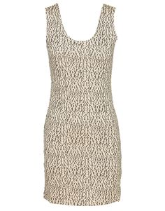 Mizumi Textured Glitter Vest Dress in Beige $ 22.11 #chiarafashion