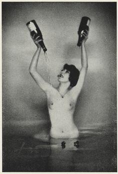 """Champagne,"" Studio Manassé, 1920s"