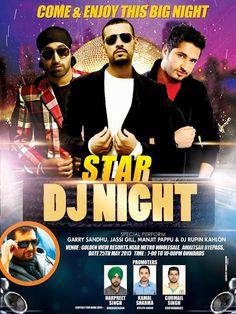 Star DJ Night With Jassi Gill, Garry Sandhu - 25th May 2013, Amritsar