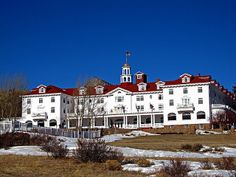 The Stanley Hotel. Stephen King got his inspiration for The Shining from this very hotel.