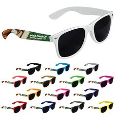 40749f12af Protect your eyes from the sunlight with our Good Value® Cool Vibes Dark  Lenses Sunglasses - Full Color. Classic folding eyewear with protective  lenses.