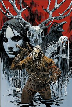 Portada The Witcher (Dark Horse)