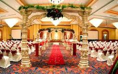 Indian wedding decorations mostly are very luxurious decoration. There are a lot of stuffs that you should look for if you want to have wedding decorations like Indian. Wedding Places, Wedding Locations, Wedding Mandap, Wedding Reception, Mandap Design, Bride And Groom Silhouette, Traditional Wedding Attire, Sikh Bride, Nontraditional Wedding