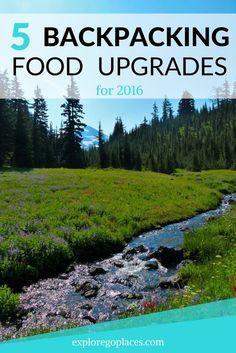 Backpack food upgrades