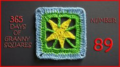 365 Days of Granny Squares Number 89
