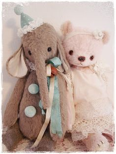 WITHOUT A BEAR...  A bedroom without a teddy is like a face without a smile.
