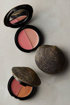 DuWop Seashell Compact - anthropologie