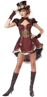 Teen Steampunk Girls Costume – Halloween Costumes « Mutant Faces