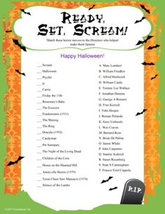 halloween game and activity ideas