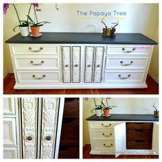 White Dresser Collection Custom Order Dresser, Nightstand, Buffet, 9 Drawer Dresser. $595.00, via Etsy.