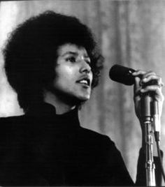 Elaine Brown -- 1st female leader of the Black Panther party. Remarkable individual.