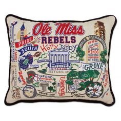 What an awesome idea for a housewarming gift for the ultimate Ole Miss fan.