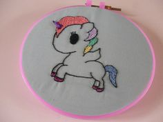 Hey, I found this really awesome Etsy listing at https://www.etsy.com/uk/listing/474346297/kawaii-unicorn-embroidery-hoop-wall-art