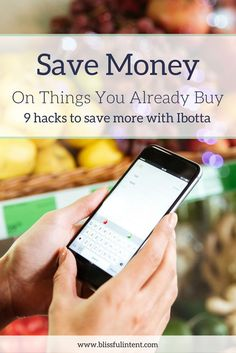 Ibotta can save you money on everyday purchases you are already buying. Take a second to read about the 9 ways you can save money with Ibotta at the grocery store and more!