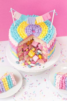 DIY Piñata Cake | Sprinkles for Breakfast