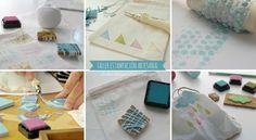 Estampación artesanal y otros talleres creativos   el taller de las cosas bonitas