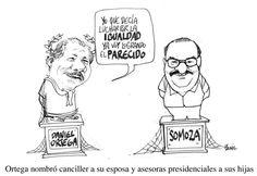 Daniel Ortega versus Somoza - Bonil