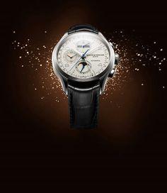 #TiempoPeyrelongue Clifton Cronógrafo Calendario Completo Baume et Mercier