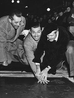 Clark Gable deja su