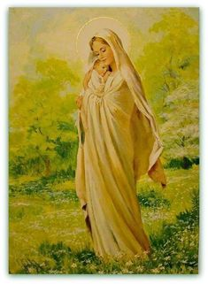 Catholicism, Pro Life, Paintings and more. Catholic Religion, Catholic Art, Religious Art, Blessed Mother Mary, Blessed Virgin Mary, Queen Of Heaven, Mama Mary, Religious Pictures, Sainte Marie