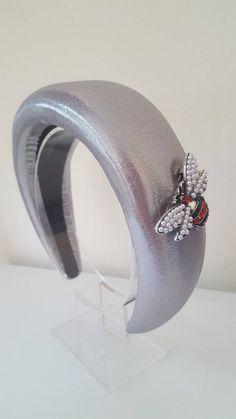 Ivory Fascinator, Wedding Fascinators, Fascinator Headband, Wedding Hats, Headpiece, Party Wedding, Halo Headband, Silver Headband, Black Headband
