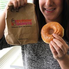 Yay, it's Donut Day today! It's the perfect day to bring a dozen Dunkin' Donuts to work!  Glazed or sprinkles? #Vocalpoint #DonutDay #Food #Cooking