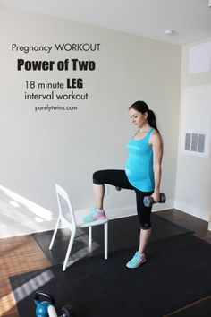 Pregnancy Leg Workouts on Pinterest