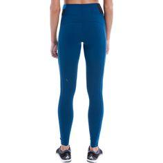 Lole Livy Leggings - XS - Marine - Women's Pants ($99) ❤ liked on Polyvore featuring pants, leggings, blue, lole pants, flat-front pants, lined nylon pants, pocket pants and nylon leggings