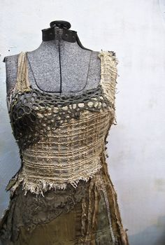 "..from gibbous fashion ""the swampy dress"" gorgeous detail work"