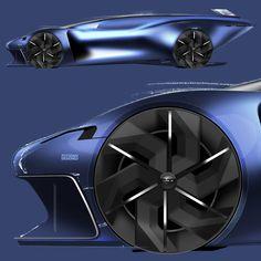 Car Design Sketch, Car Sketch, Rims For Cars, Hot Cars, Concept Art World, Concept Cars, Futuristic Cars, Car Wheels, Transportation Design