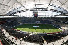 Commerzbank Arena (Waldstadion) Germany, Soccer, Sands, Futbol, European Football, Deutsch, European Soccer, Football, Soccer Ball