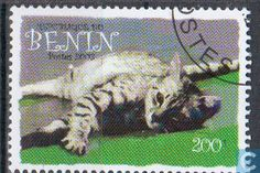Postage Stamps - Benin [BEN] - Felis silvestris catus