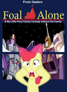 Hasbro's MLP FIM presents Foal Alone by darthraner83.deviantart.com on @DeviantArt