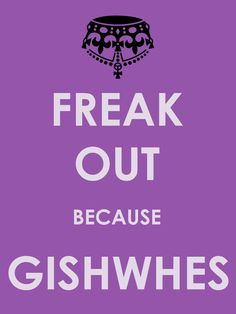 Gishwhes...I really want to take part in this next year it seems so fun and awesome and it's for charity.