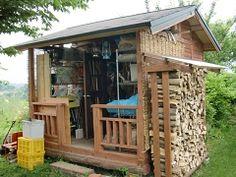 自分で建てる小屋