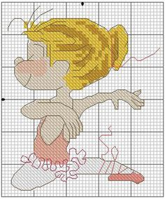 "Photo from album ""Balet XStitch"" on Yandex. Cross Stitch For Kids, Cross Stitch Boards, Cross Stitch Needles, Cross Stitch Baby, Cross Stitch Kits, Cross Stitch Designs, Cross Stitch Patterns, Cross Stitching, Cross Stitch Embroidery"