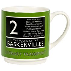 Wild & Wolf Hound of the Baskervilles Mug : print