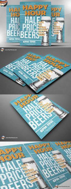 Photography Flyer Template | Flyer-Vorlage, Hochzeit und Flyer
