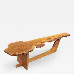 Sled Based Coffee Table by George Nakashima