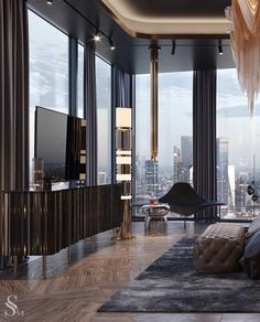 Luxury Dining Room, Luxury Rooms, Luxurious Bedrooms, Luxury Kitchens, Luxury Living, Best Interior, Modern Interior Design, Interior Design Inspiration, Master Bedroom Design