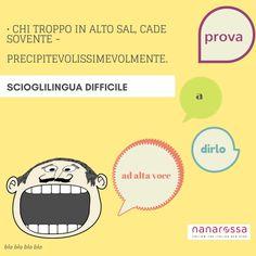 settimana Scioglilingua italiani: difficili ma divertenti giorno7 #nanarossa