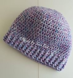 Child's Crochet Hat 3-5 year old