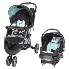 Get around in comfortable style with the Baby Trend EZ Ride 35 Travel System (Doodle Dots). An ideal solution for new parents, this set includes the EZ Ride Stroller and the Ally 35 infant car seat. Car Seat And Stroller, Travel Stroller, Pram Stroller, Baby Car Seats, Toddler Stroller, Traveling With Baby, Travel With Kids, Toddler Travel, Best Baby Strollers