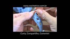 Crochê - Guia de Pontos - Aula 41 - Ponto Ondas com Pineapple