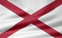 Picture of the Alabama state flag.