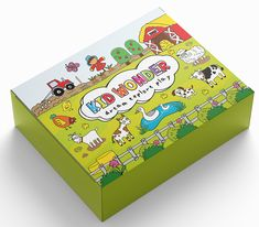 Join us for our MOOOTASTIC adventures on the farm!  Kid Wonder is a monthly subscription box for kids!