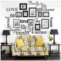 pinterest home decor family tree wall art | Lucky Star Designs and Photography: Wall Art Wednesday - Inspiration ...