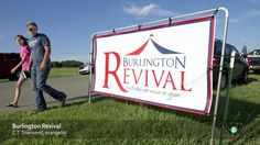 Thousands of worshippers have been flocking to tent revival services in Burlington.