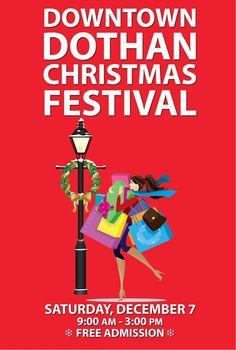 Downtown Dothan Christmas Festival via @Event2me @TheDowntownGroup http://www.event2me.com/5728587